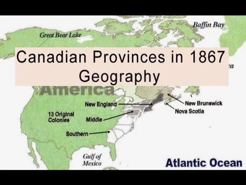 Classical Conversations Geography: Canadian Provinces (1867)