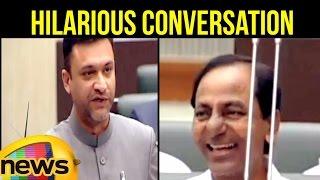 Hilarious Conversation Between Akbaruddin Owaisi And T CM KCR Over Demonetisation | TS Assembly
