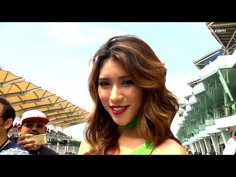 The Paddock Girls of the #MalaysianGP