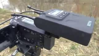 Обзор и тест,беспроводного микрофона BOYA BY WM8