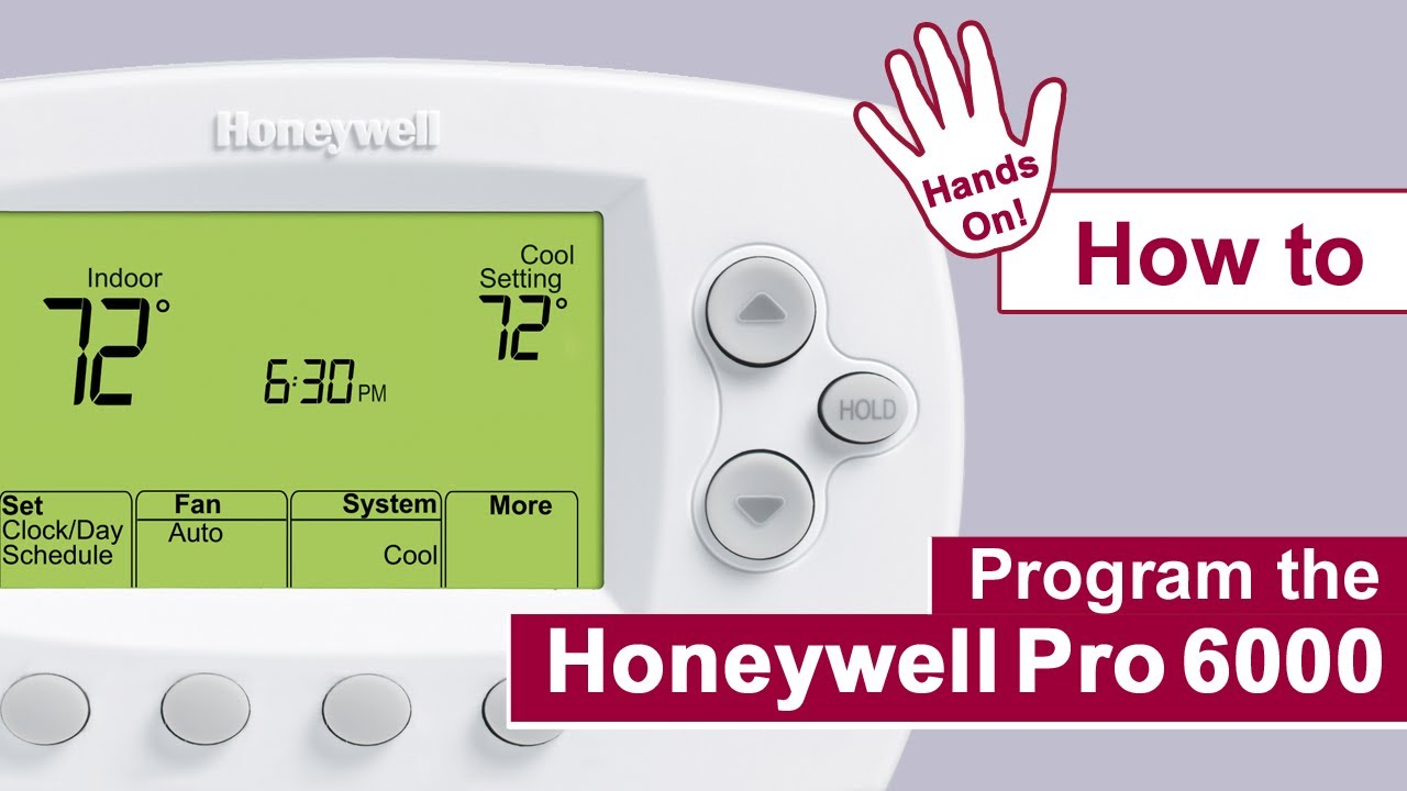 Honeywell Thermostats Pro 6000 Manual Focus Wiring Diagram