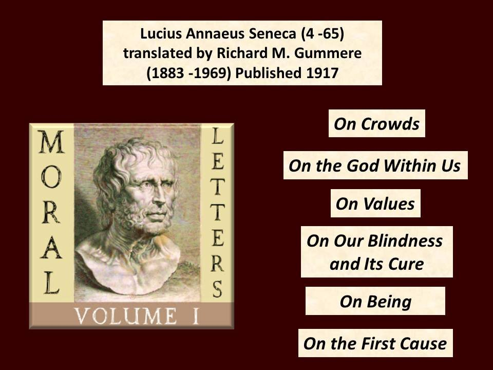 seneca moral essays volume 1