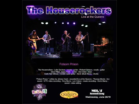 Folsom Prison Blues - The Houserockers live at the the Queens
