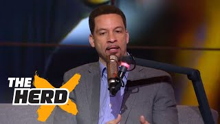 Chris Broussard on Durant's impact during 2017 Finals, Ty Lue's Game 2 press conference | THE HERD