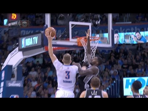 Domantas Sabonis With the POSTERING SLAM! l 03.09.17