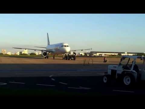 Pushback e Decolagem - Airbus A320 100/200 TAM