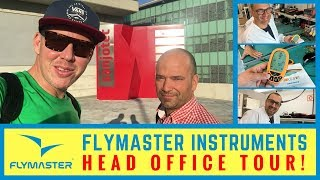 Flymaster Office Tour, Vario LS Device and Support System