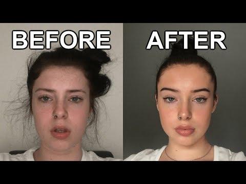 my everyday makeup routine. i'm not a beauty guru.