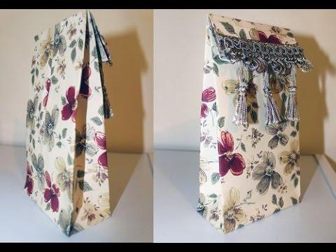 DIY Paper Gift Bag Tutorial