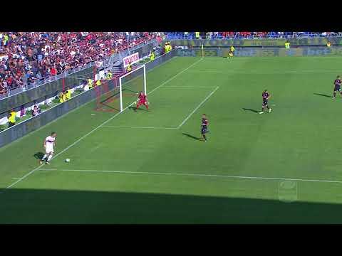 Il gol di Taarabt - Cagliari - Genoa 2 - 3 - Giornata 8 - Serie A TIM 2017/18