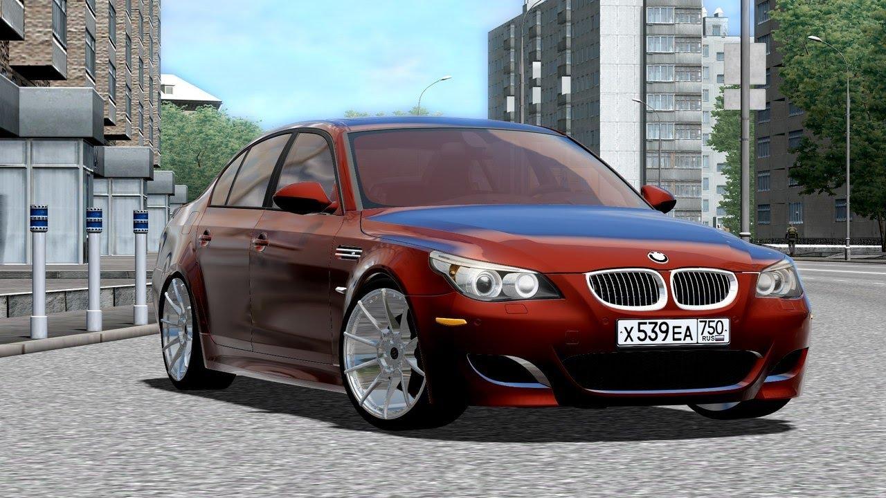 city car driving bmw m5 e60 5 0 v10 1 2 2 2 2 7 download link youtube. Black Bedroom Furniture Sets. Home Design Ideas