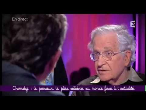 Noam Chomsky invité chez Taddéï à Ce soir ou jamais 1/4