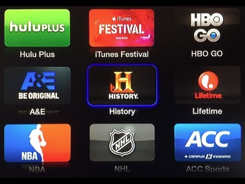 New Apple TV Channels: A&E, The History Channel and Lifetime