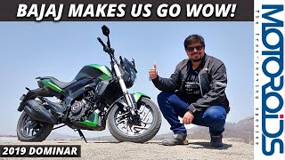 New 2019 Bajaj Dominar 400 In-Depth Review | Massively Improved, Great Value | Motoroids