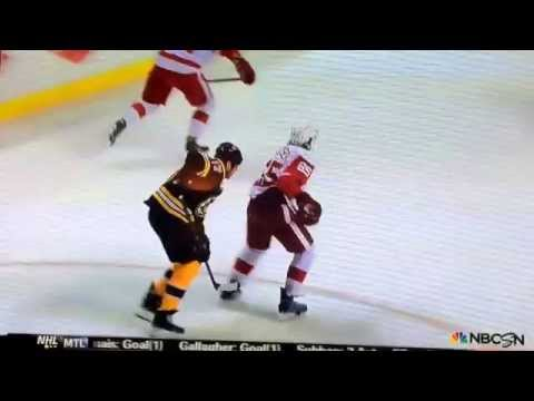 Lucic The POS Coward!! 2014 Playoffs Game 1 Round 1 April 18
