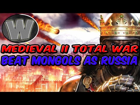 Medieval 2 total war - How to defeat Mongols as: Russia