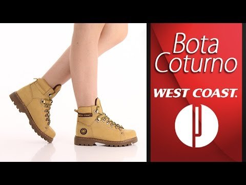18ad82de33c Bota Coturno Masculina West Coast Worker 5790 - Mostarda - 7010015399