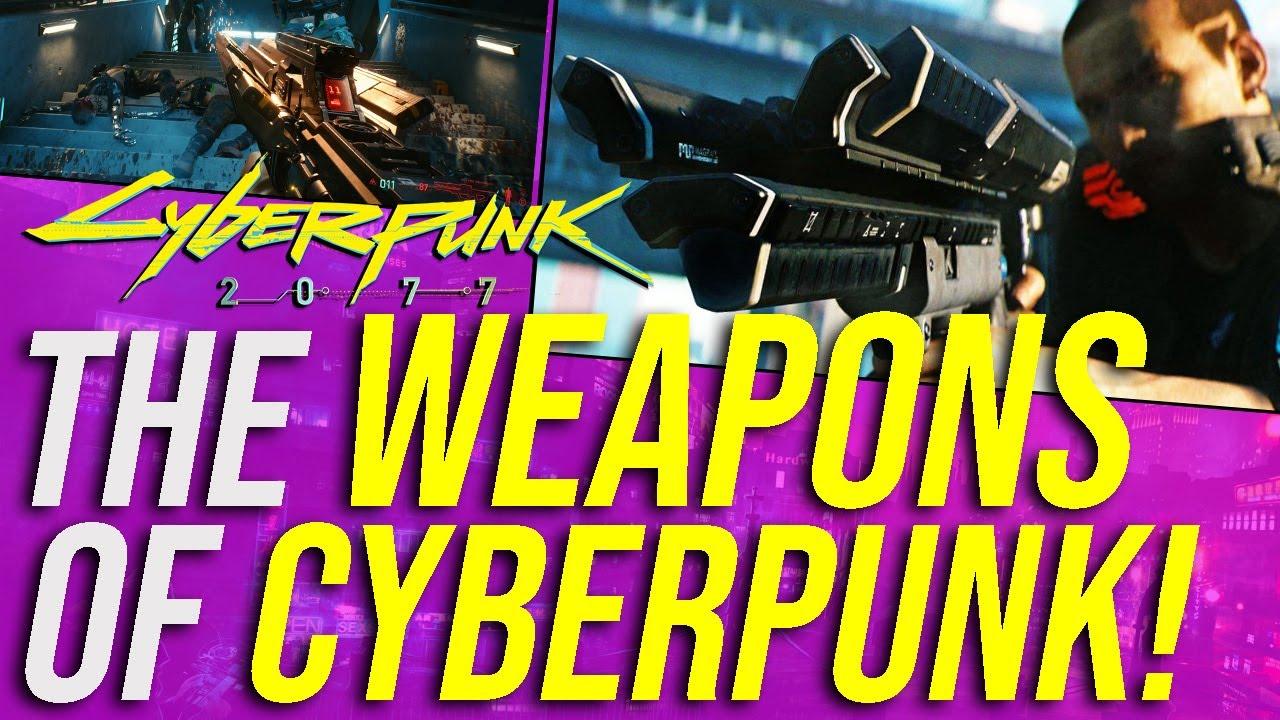 Cyberpunk 2077 Lore - Weapons & Gun Laws! thumbnail