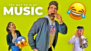 TRY NOT TO PLAY MUSIC Challenge | Rimorav Vlogs