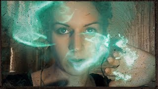 ASMR - Portraits of Hogwarts - Soft Speaking, Crackles, MAGIC