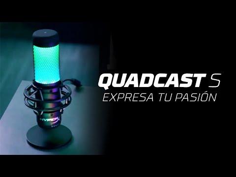 Descubre el nuevo micrófono HyperX QuadCast S