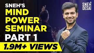 Sneh Desai's Mind Power Seminar Part 1 (in Hindi)