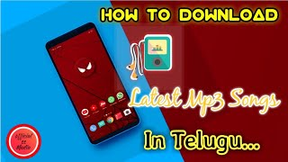 how to download latest telugu mp3 songs in android mobile ||How to download dj songs in telugu 2018