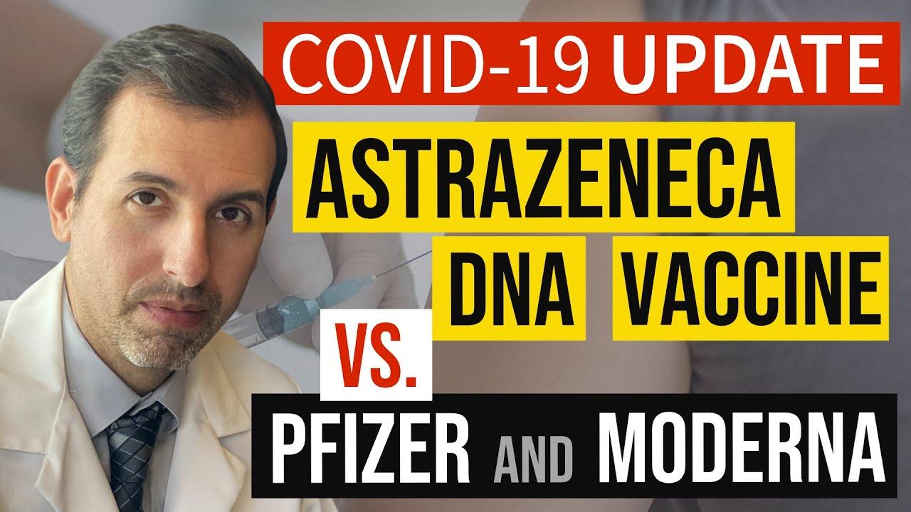 Download Coronavirus Update 118: AstraZeneca DNA COVID 19 Vaccine Explained (vs. Pfizer / BioNTech, Moderna)