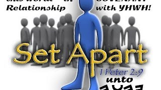 Truly Set Apart in Messiah