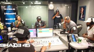 DA CLOTH SHOWS OUT!! On Their 2nd Appearance With Dj Kay Slay On Shade45