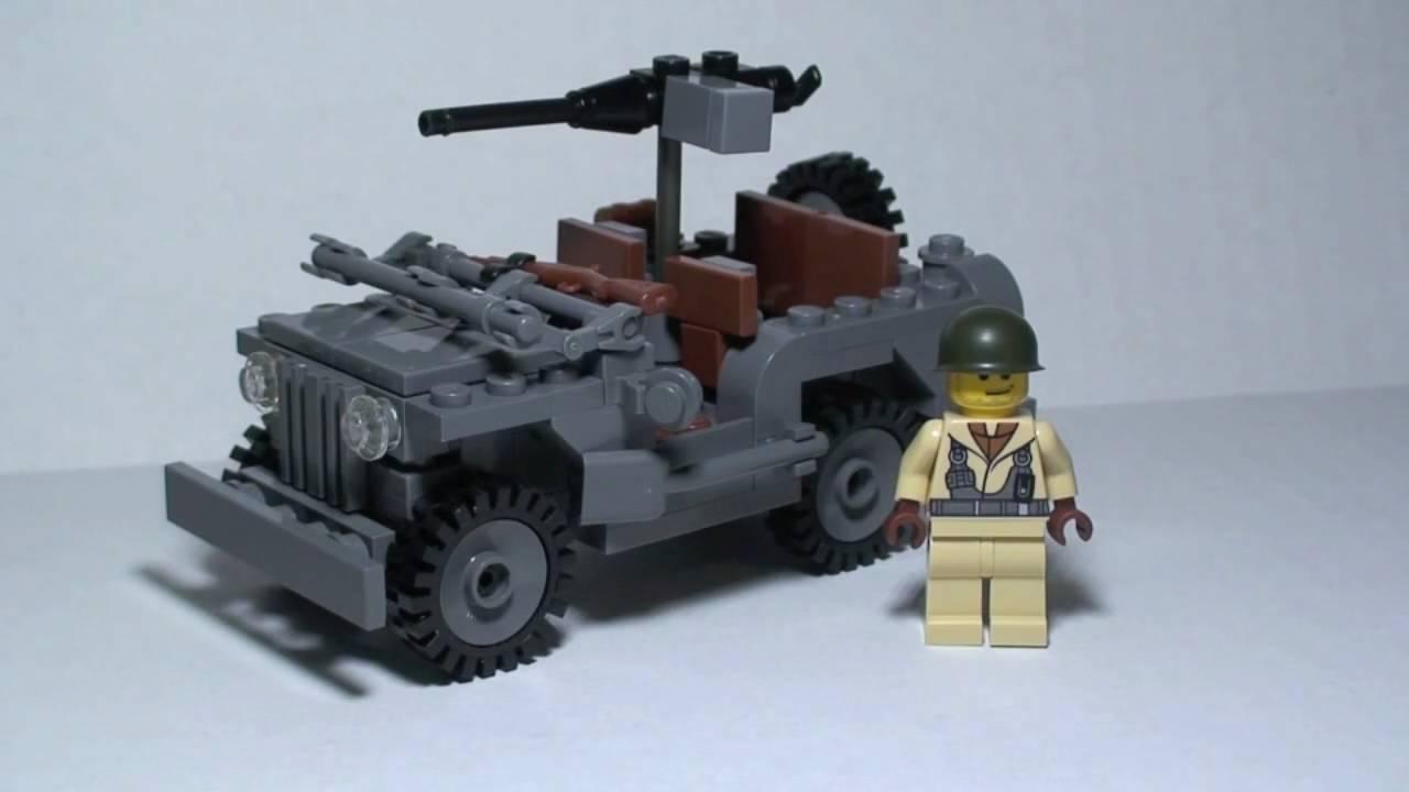 Lego Brickmania Jeep 4x4 Willys Jeep Youtube