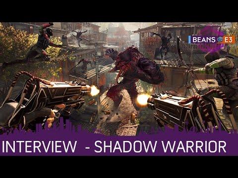 BEANS@E3 2016   Shadow Warrior: Interview mit Tadeusz Zielinski von Flying Wild Hog   16.06.2016