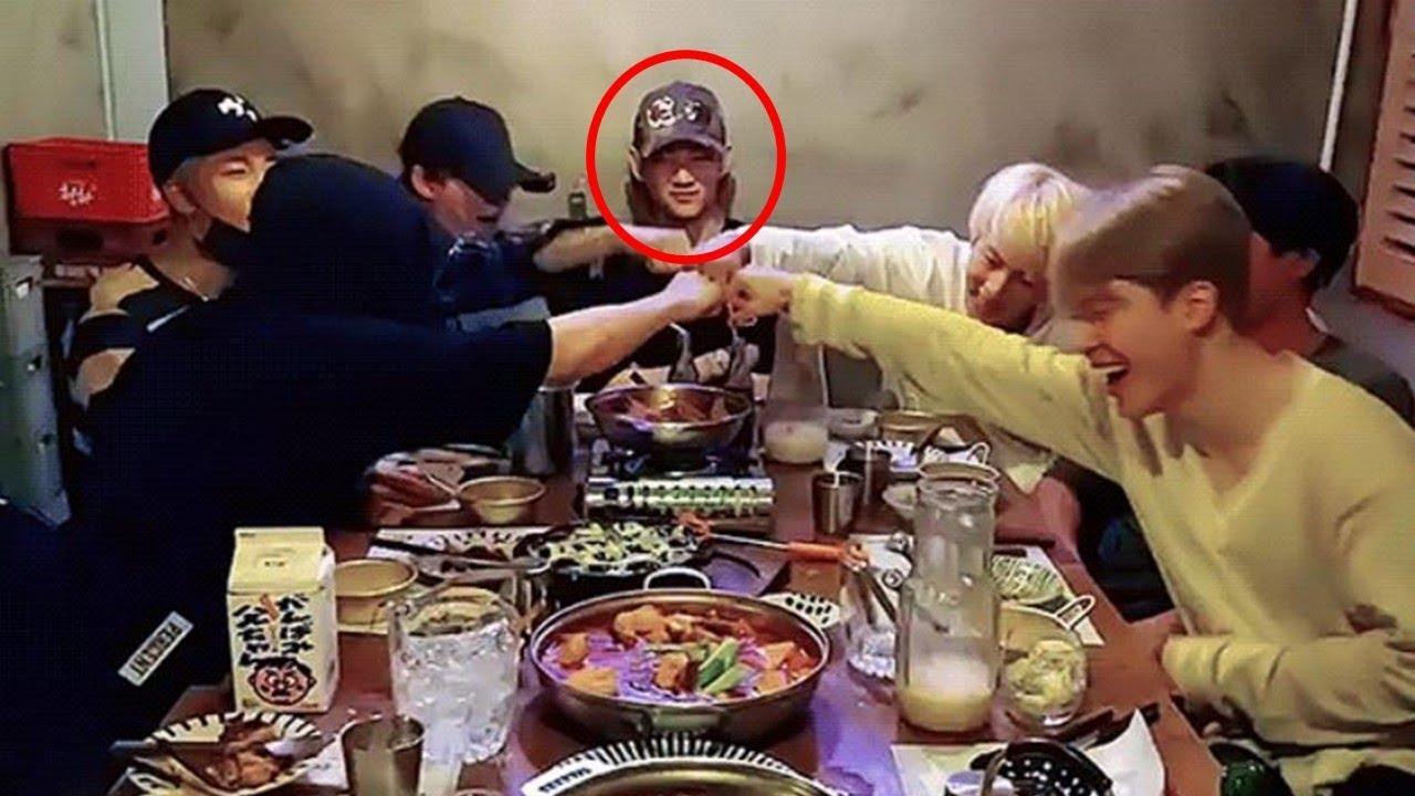While Sitting In Between Drunk Members, BTS V Said …