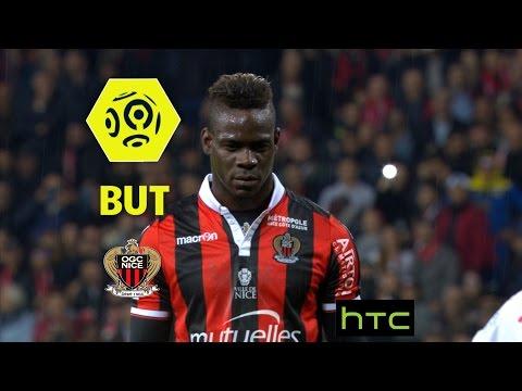 But Mario BALOTELLI (16') / OGC Nice - Girondins de Bordeaux (2-1) -  / 2016-17