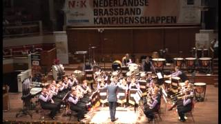 Brassband Schoonhoven A - NBK 2014 - Journey of the Lone Wolf