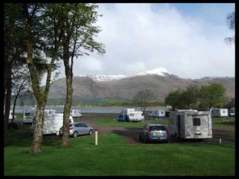 Bill & Marie Caravan Trip Scotland