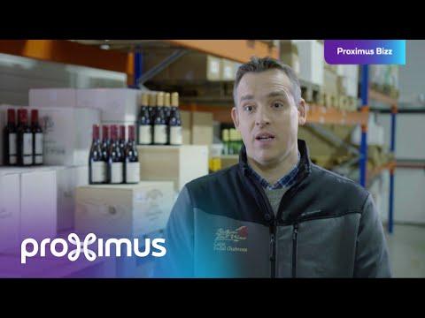 Belgian East Wine: Proximus permet de travailler quoi qu'il arrive.