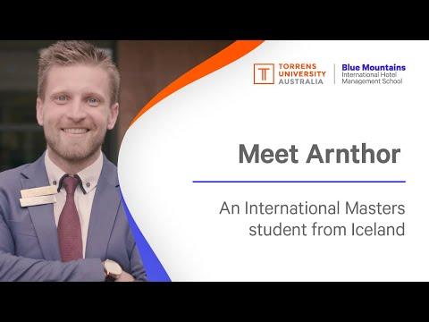 Arnthor, Iceland,  Master International Hotel Management