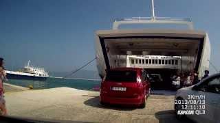 Паромы Греции: Корфу-  Игуменица(Август 2013. Возвращение с Корфу., 2014-02-01T18:50:35.000Z)