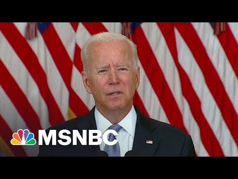 'I Stand Squarely Behind My Decision': Biden On Afghanistan Withdrawal