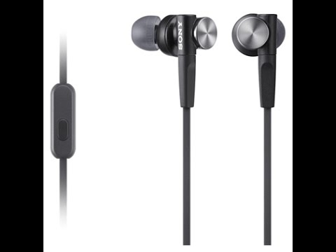 Unboxing Sony MDR-XB50AP earphone 2016 with Extra Bass - YouTube