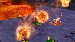 Прохождение игры Shrek SuperSlam часть 1