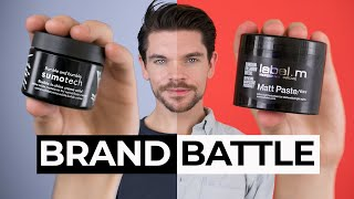 Label.M Matt Paste vs. Bumble and bumble Sumotech | Brand Battle
