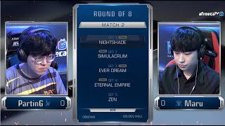 [2020 GSL S1] Ro.8 Day1 Match2 PartinG vs Maru