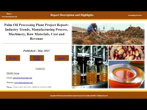 Palm Oil Market to Witness Stable Growth During 2015-2020
