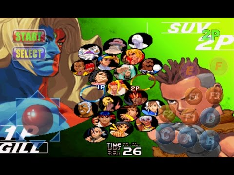Street Fighter 3rd Strike Boss Hack Para Android
