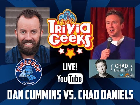 Trivia Geeks Live! - Stand Up for Irma with Dan Cummins & Chad Daniels