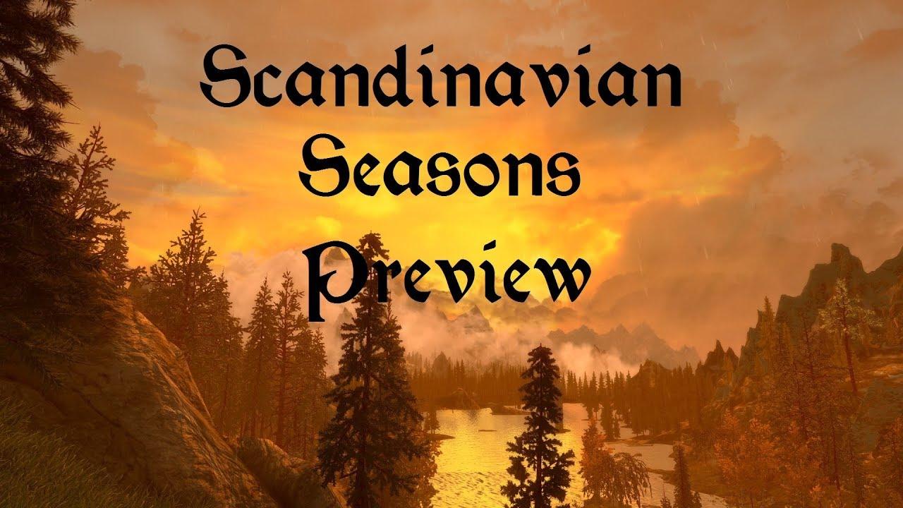 meistverkauft neu kaufen Sortendesign Skyrim SE - Scandinavian Seasons Preview