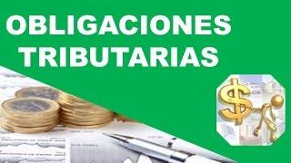 Cuáles son las Obligaciones Tributarias