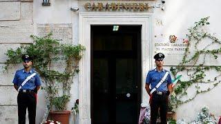 Italie : le meurtre d'un carabinier suscite l'émoi